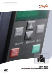 Catálogo de Producto VLT®2800 (pdf) - Danfoss