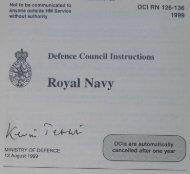 1999 DCI(RN) 130 : Royal Marines Medical Assistants - RM badges