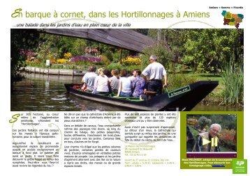 Les Hortillonnages d'Amiens - Comité Régional Tourisme de Picardie