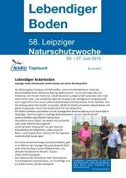 Lebendiger Ackerboden - alt.nabu-sachsen.de