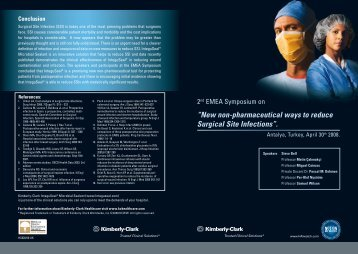 """""""New non-pharmaceutical ways to reduce Surgical Site Infections""""."""