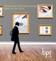 Die Kunst der Videosprechanlage stellt sich zur Schau. - ESAG