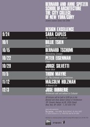 10/1 Billie Tsien DesiGn eXCellenCe 9/24 - The City College of New ...