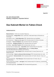 Das Kabinett Merkel im Fakten-Check - Karin Roth, MdB