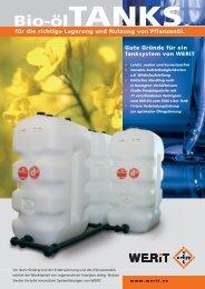 Bio-Öl-Tanks