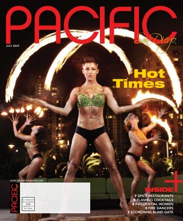 JUly 2009 - Pacific San Diego Magazine