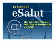 Plantilla eSalut-HCCC tarda_v05 - Generalitat de Catalunya