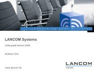 LANupdate Herbst 2009 - ARGE wireless-solution
