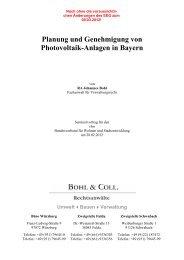 Planung und Genehmigung von Photovoltaik-Anlagen in Bayern