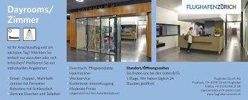 Flyer Dayrooms - Zurich Airport