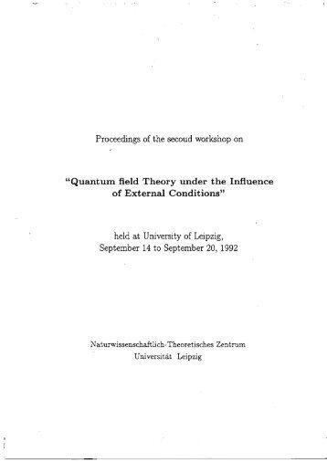 Here - Institut für Theoretische Physik