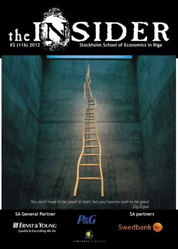 the Insider Digital Edition in PDF format - Stockholm School of ...