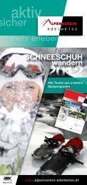 Schneeschuhwandern - Österreichischer Alpenverein Wien