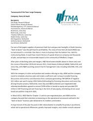 Harry & David - Turnaround Management Association