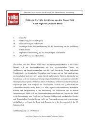 Geschichten aus dem Wiener Wald - Münchner Volkstheater