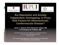 Are Depression and Anxiety Independent, Overlapping, or Proxy ...