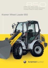 Kramer Wheel Loader 850 - Cebeko