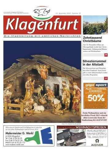 Klagenfurt 21 - Magistrat Klagenfurt