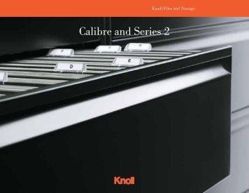 Calibre/Series 2 Brochure - Knoll
