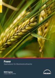 Broschüre Power Gas (3 MB PDF) - MAN Engines
