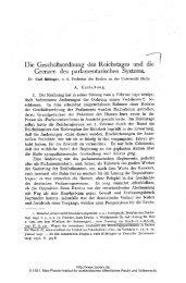 des Reichstages und - Zeitschrift für ausländisches öffentliches ...