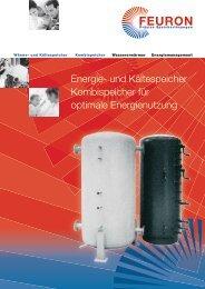 Energie- und Kältespeicher Kombispeicher für optimale ... - Friap AG