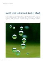 Swiss Life exclusive Invest DWS - ITA
