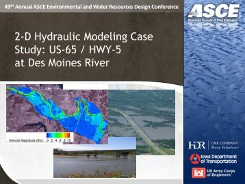 49th Annual ASCE Environmental and Water Resources Design ...