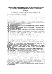Ley Nº 4032 - Secretaria de Ambiente y Desarrollo Sustentable