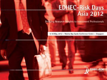 Key findings with current indices - EDHEC-Risk