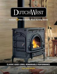 Catalytic Non-Catalytic Wood Burning Stoves