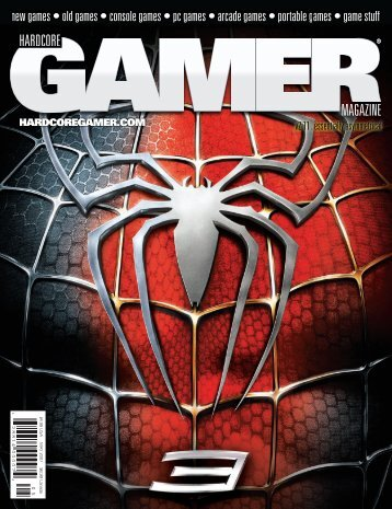 Volume 2 Issue 11 May 2007 Spider-Man 3 - Hardcore Gamer