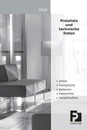 2008 / 2009 2010 Preisliste und technische Daten
