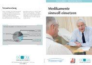 Ratgeber - Medikamente sinnvoll einsetzen - OÖGKK