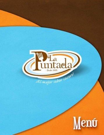 Menú La Puntada Restaurant