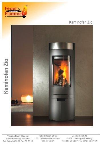 Kaminofen Mainz xl iii granit black feuer flamme kaminã fen