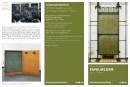 TAFELBILDER - koost - Universität zu Köln