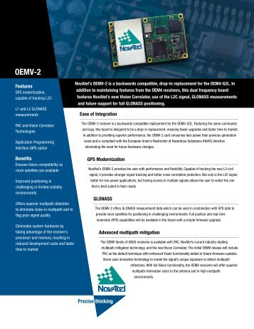 OEMV-2 - RTD Embedded Technologies, Inc.