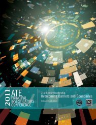 2011ATERegMailing - American Association of Community Colleges