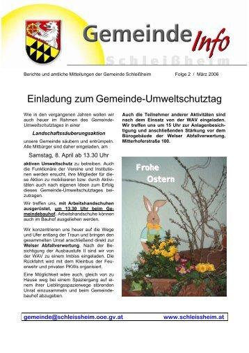 Folge 2 April 2006 (0 bytes) - Schleißheim