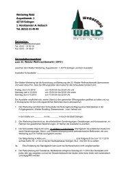 Vertrag Weihnachten 2010 - Walder Werbering