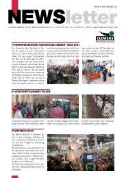 Newsletter Februar 2011 - Clemens Gmbh & Co. KG