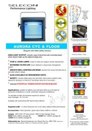 AURORA CYC & FLOOD - Selecon