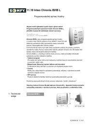 11.18 Inteo Chronis IB/IB L - Univers