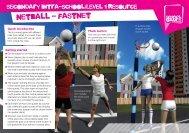 netball - fastnet - School Games