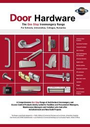 Health Care Catalogue 2 - Architectural Hardware Direct