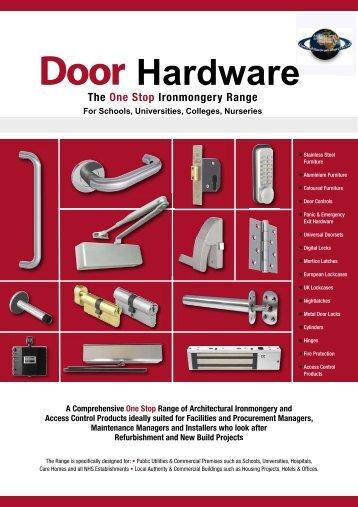 Health Care Catalogue 2 - Architectural Hardware Direct