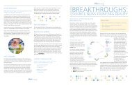 BREAKTHROUGHS: - P&G Beauty & Grooming