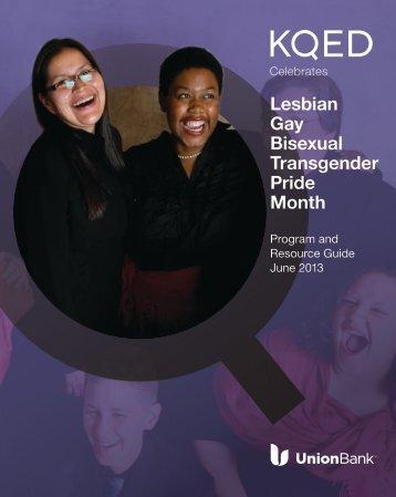 Download the 2013 Lesbian Gay Bisexual Transgender ... - KQED