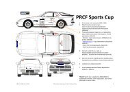 Liite 1 sponsoritarrojen kiinnitys - Porsche Racing Club Finland